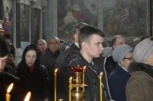 Прощание с почившим отцом Георгием Сидоровым