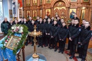 Казаки Ейского казачьего кадетского корпуса посетили церковно-исторический кабинет