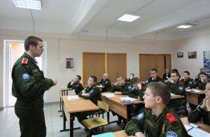 Урок православной культуры провёл казак-одиннадцатиклассник