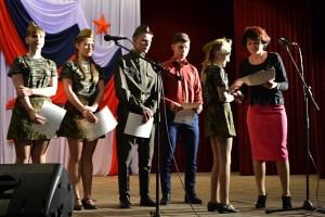 В станице Челбасской состоялось торжественное закрытие месячника оборонно-массовой и военно-патриотической работы