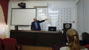 В Ленинградском педагогическом колледже прошла встреча студентов  с членом союза писателей России