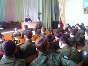 """У ейских кадетов продолжается цикл бесед """"Церковь и казачество"""""""