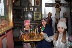 В рамках урока «Час Православия» дети школы №12 посетили храм