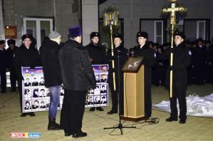 Юбилейная 10-я акция «Свеча и гранит» прошла в Ейске