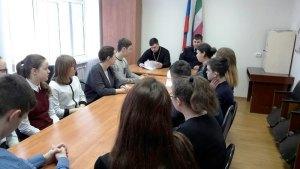 В станице Старощербиновской прошел круглый стол посвященный жертвам терроризма.