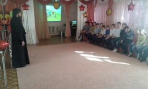 Штатный священник храма Воскресения Словущего г. Приморско-Ахтарска посетил детский центр «Доброта»