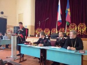В Доме культуры  пос. Краснофлотский прошли выборы атамана
