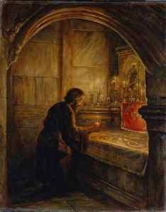 Русский игумен Даниил о схождении благодатного огня. Начало 12 века