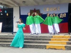 9 мая на митинге в станице Кисляковской и в селе Кисляковка отслужили заупокойную литию