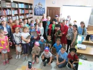 На детской площадке «Купель» прошли мероприятия, посвященные Дню памяти и скорби