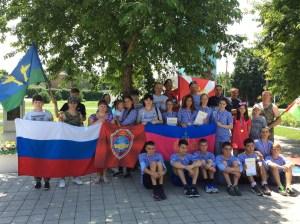 В Челбасской прошли военно-патриотические соревнования, посвящённые Дню ветеранов боевых действий