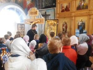 Ученики посетили храм Приморско-Ахтарска