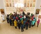 В храме святых апостолов Петра и Павла ст. брюховецкой.