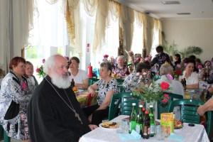 Благочинный Староминского округа церквей принял участие в торжественном приеме «Семья – источник вдохновения»