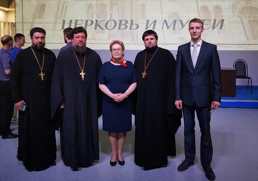 Древлехранитель Ейской епархии принял участие в I Всероссийской конференции «Епархиальные древлехранители. Церковь и музеи»
