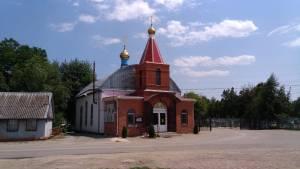 Монтаж колокольни храма новомучеников и исповедников Церкви Русской в ст. Ленинградской