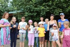 Завершила свою работу летняя детская площадка «Купель» на приходе храма Покрова Пресвятой Богородицы