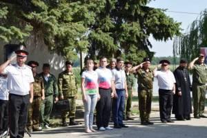 В Староминском районе прошли военно-полевые сборы допризывной казачьей молодежи Ейского казачьего отдела