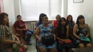 Беседа в женской консультации ЦРБ ст. Ленинградской Уманского благочиния