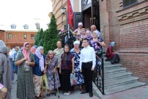 Староминчане поклонились мощам святителя Спиридона Тримифунтского