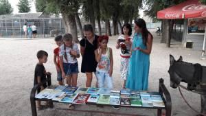 Православная библиотека «Слово» участвовала в культурно-просветительском мероприятии в рамках Дня станицы и района