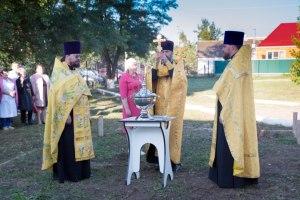 Началось строительство храма на территории Тимашевской ЦРБ
