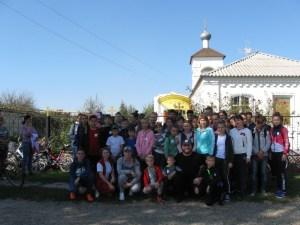 В станице Крыловской прошел III молодежный православный велопробег