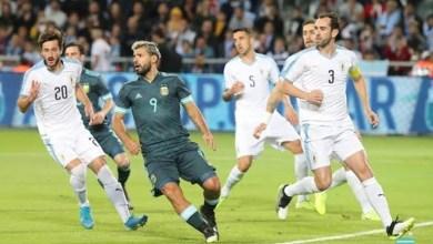 Argentina x Uruguai não Saem do Empate