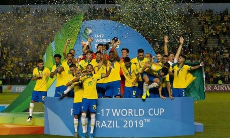 Brasil da Show no Sub-17 e é Tetra Campeão Mundial
