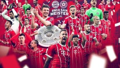 Bayern de Munique Conquista o Título da Budensliga