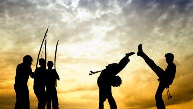 Capoeira - Arte marcial Brasileira.