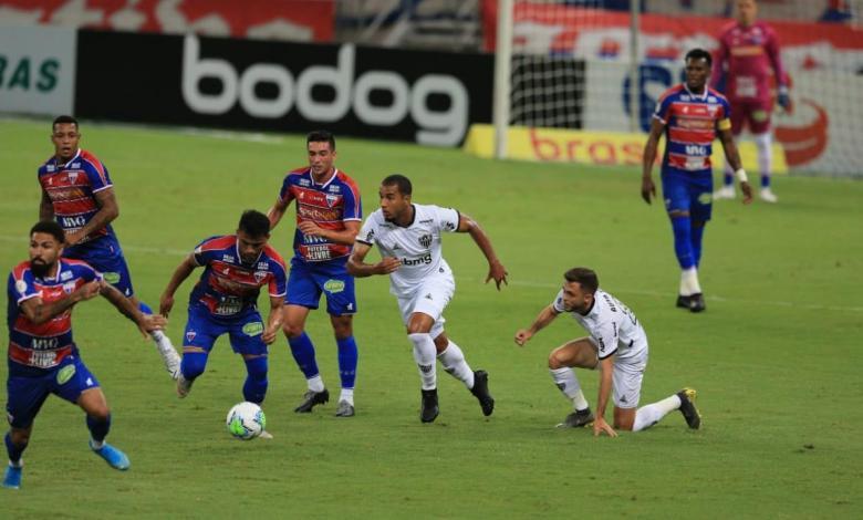 Fortaleza x Atlético MG, Ei Sports
