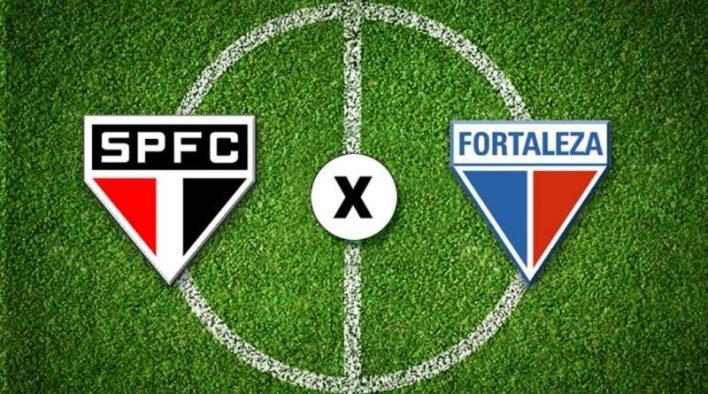 Foto/Reprodução: São Paulo x Fortaleza.
