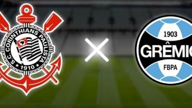 Jogo entre Corinthians e Grêmio empata em 0 - 0.