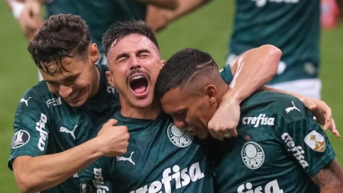 Gols de Palmeiras 5 x 0 Delfín