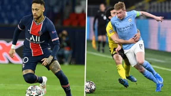 Neymar e De Bruyne, Ei Sports