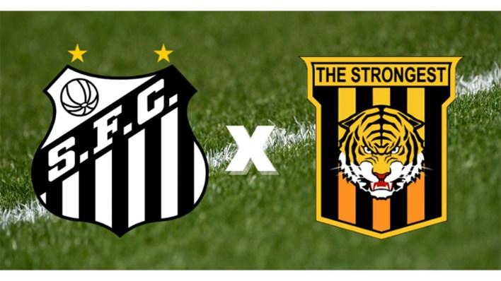 Brasões Santos x The Strongest.