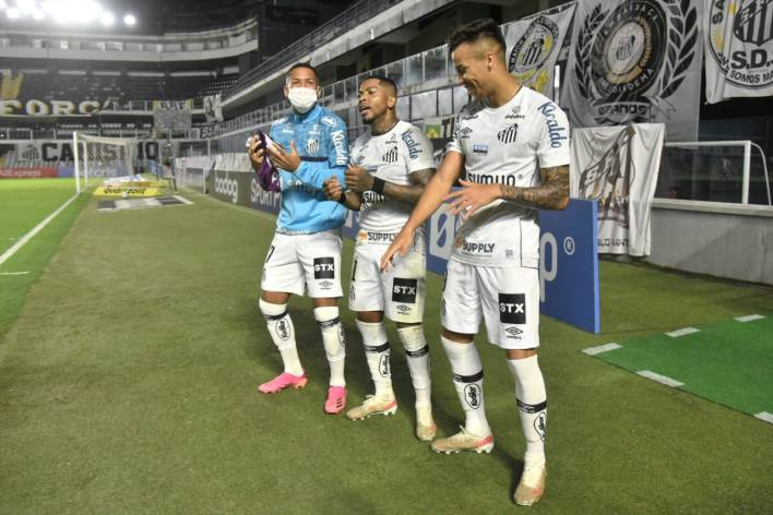 Santos 2x0 São Paulo, Ei Sports