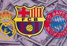 os 10 clubes mais valiosos do mundo