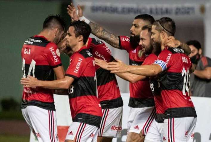 Jogadores do Flamengo, Campeonato Brasileiro 2021