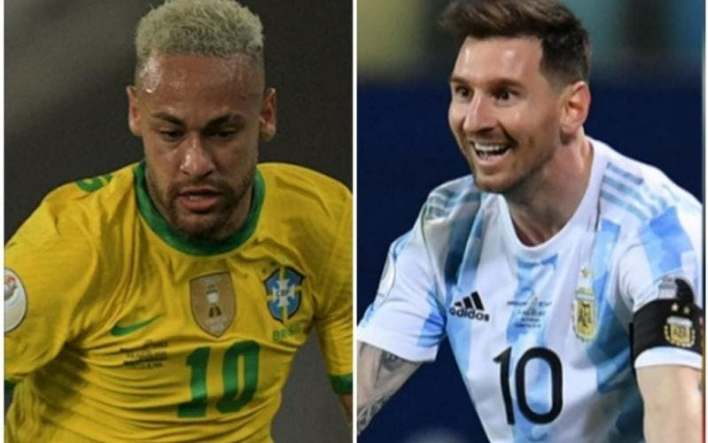 Neymar x Lionel Messo, Ei Sports