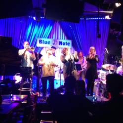 With Lee Hogans at the Blue Note - Jazz/RnB/Soul