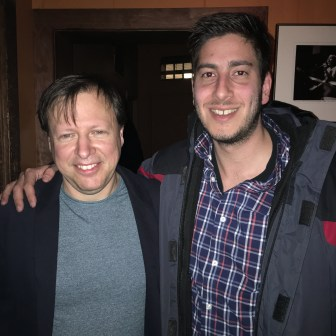 With Chris Potter at Chris' Jazz Cafe 2-18