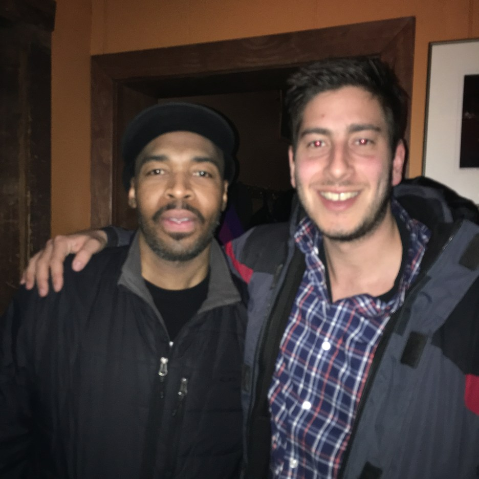 With Eric Harland at Chris' Jazz Cafe 2-18