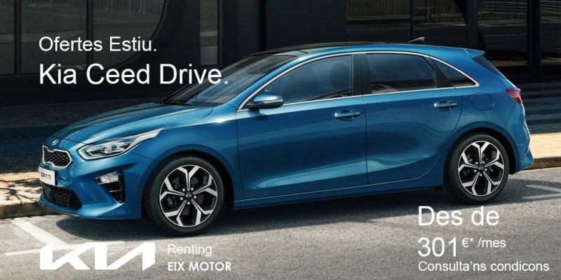 Kia Ceed Drive Renting