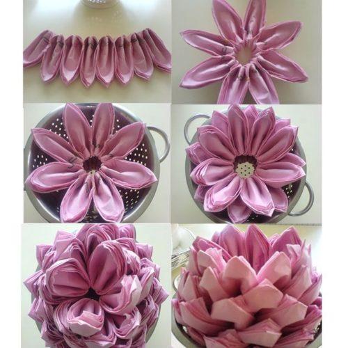 Lotus από χαρτοπετσέτα