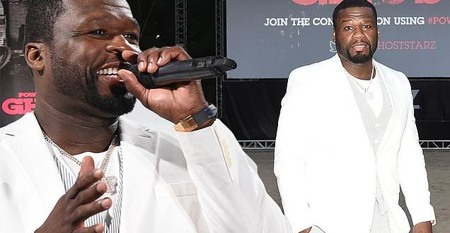 50 Cent plays host of outdoor series premiere of Power Book II: Ghost in the Hamptons