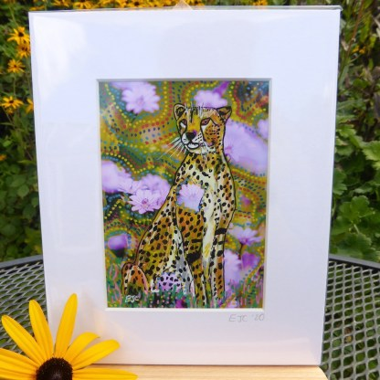 Cheetah painting by Larryware