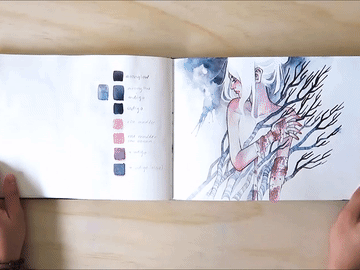 Why You Should Show Off Your Sketchbook