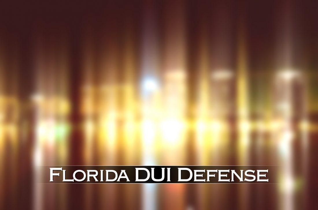 florida dui defense